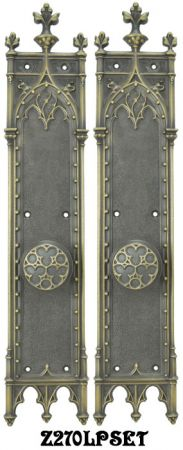 Large Gothic Amiens Interior Passage Door Set (Z270LPSET)