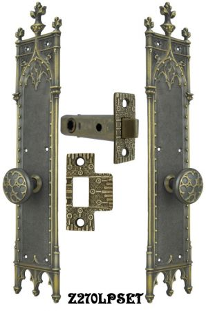 Large-Gothic-Amiens-Interior-Passage-Door-Set-(Z270LPSET)