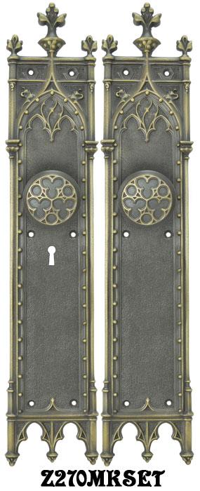 Vintage hardware lighting large victorian amiens - Interior door privacy mortise lock ...
