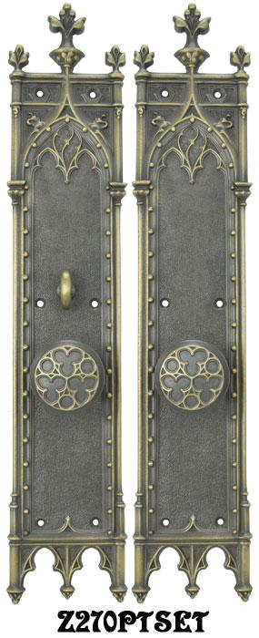Vintage hardware lighting for Interior passage doors