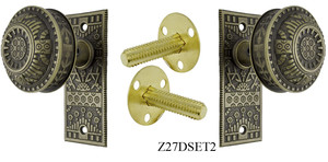 Windsor Pattern Small Door Plate Dummy Set (Z27DSET2)
