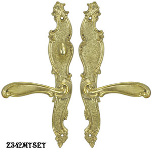 Victorian-French-Door-Set-with-Turnlatch-Mortise-(Z342MTSET)