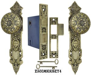 Lost-Wax-R-and-E-Interior-Locking-Mortise-Door-Sets-(Z500MKKSET)