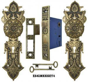 Lost-Wax-R-and-E-Interior-Locking-Mortise-Door-Sets-(Z540MKKSET)