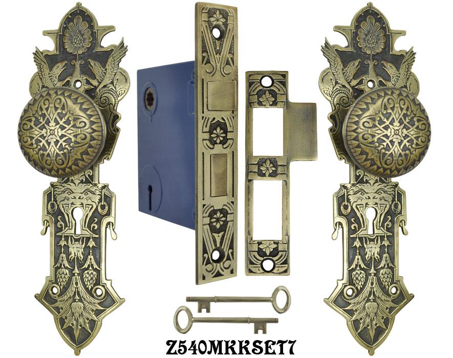 Lost Wax R Amp E Interior Locking Mortise Door Sets Z540mkkset