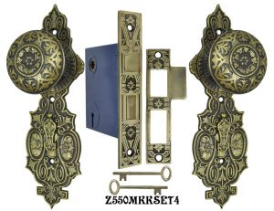 Lost-Wax-R-and-E-Interior-Locking-Mortise-Door-Sets-(Z550MKKSET)