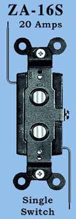 Antique-Recreated-Push-Button-1-Way-Electric-Switch-(ZA-16S)