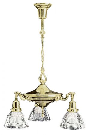 Victorian 3 Light Hanging Pan Light (ZA-433)