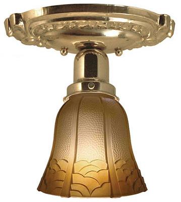 Vintage Hardware Amp Lighting Victorian Oval Canopy Short