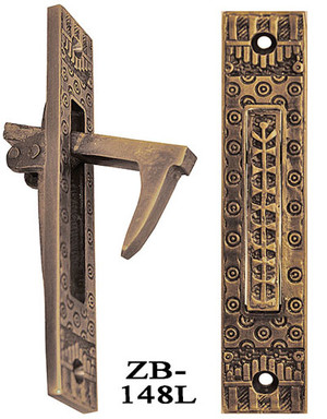 Vintage Antique Style Windsor Recreated Pocket Door Pull (ZB-148L)