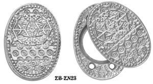 Victorian Windsor Pattern Lock Cylinder Swing Cover Plate (ZB-ZN23)