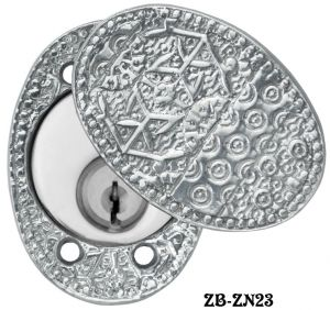 Windsor-Pattern-Lock-Cylinder-Swing-Cover-Plate-(ZB-ZN23)