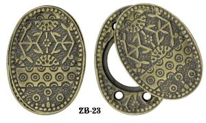 Victorian Windsor Pattern Lock Cylinder Swing Cover Plate (ZB-23)