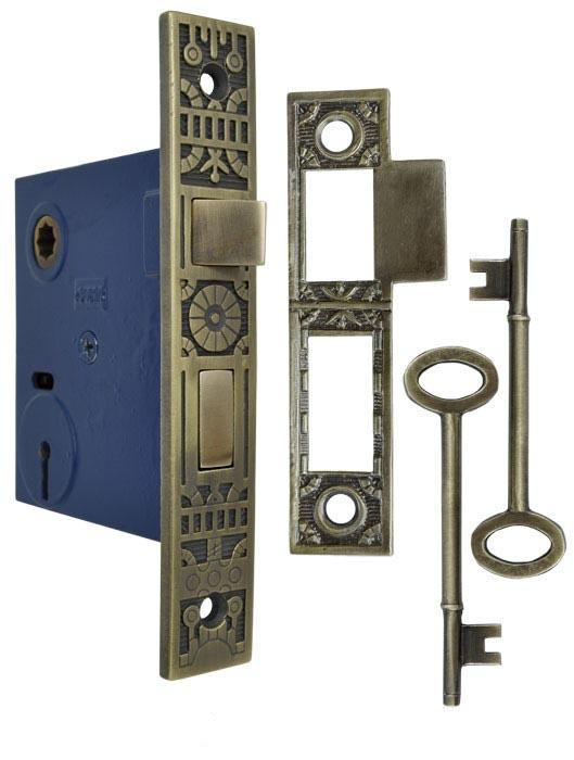 """Antique Victorian Cast Iron  Door Knob Doorknob 2 1//4"""""""