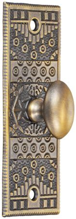 Victorian Windsor Pattern Bolt Turn Knob (ZB-40TL)