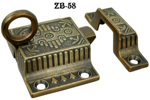 Vintage Antique Style Windsor Pattern Transom Window Latch (ZB-58)