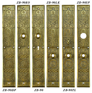 Windsor-Door-Plate-with-Keyhole-15.75-inch-Tall-(ZB-90)