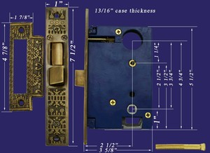 Recreated-Entry-Door-Lock-Windsor-Pattern-(ZB-9SP/SL)