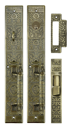 Victorian Windsor Pattern Single Entry Door Set (ZB10SET)