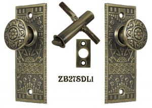 Recreated-Complete-Windsor-Screen-Door-Latch-Set-(ZB27SDL1)