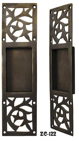 Arts & Crafts Pocket Door Handle (ZC-122)