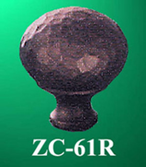 "Arts & Crafts Or Mission Copper 1"" Round Knob (ZC-61R)"