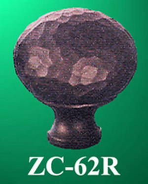 "Arts & Crafts Or Mission Copper 1 1/4"" Round Knob (ZC-62R)"