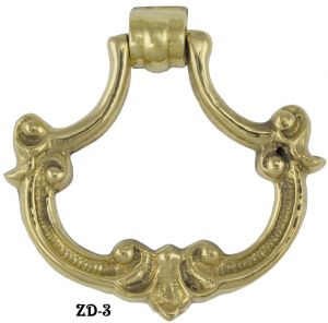 Victorian Bow Drop Pull (ZD-3)