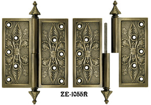 "5"" x 5"" R&E Lift Off Door Hinges Right Hand (ZE-1055R)"