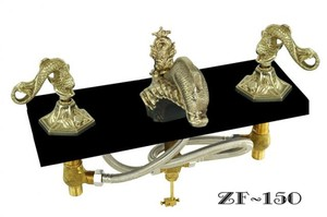 Oriental-Dolphin-Or-Sea-Dragon-Faucet-Set-(ZF-150)