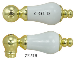 Porcelain Lever Handle Lever Handle Cold (ZF-51B)