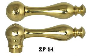 Solid Brass Lever Handle For Bathroom  (ZF-54)