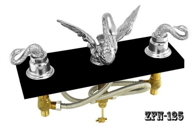 Signature Hardware Victorian Widespread Bathroom Faucet: Vintage Hardware & Lighting