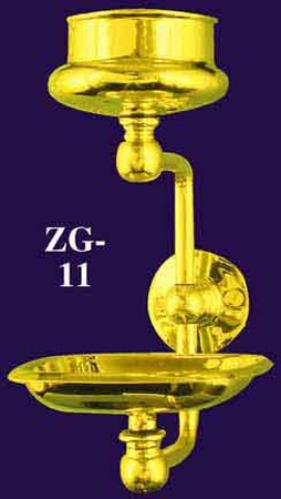 Bathroom Wall Mounted Soap & Glass Holder (ZG-11)