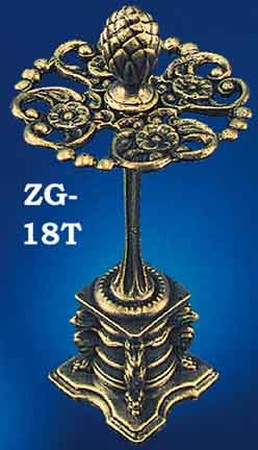 Very Ornate Toothbrush Holder (ZG-18T)