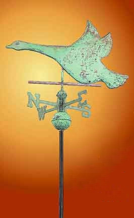 Vintage Hardware Amp Lighting Flying Goose Copper Weather