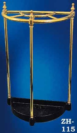 Brass and Iron Half Circle Umbrella Stand (ZH-115)