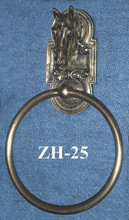 Horse Motif Towel Ring (ZH-25)