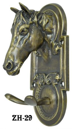 Equestrian Horse Head Double Hook (ZH-29)