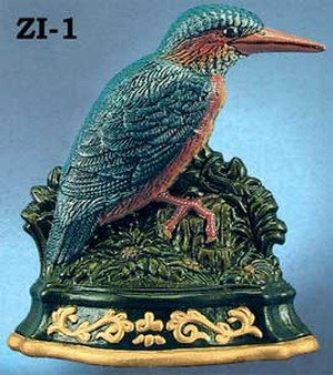 Cast Iron Door Stop Large Bird (ZI-1)