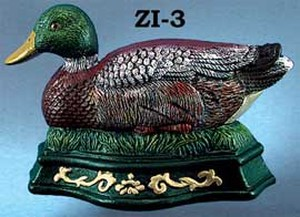 Cast-Iron-Recreated-Duck-Letter-Or-Napkin-Holder-(ZI-28)