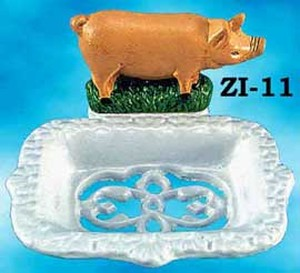Cast-Iron-Recreated-Pig-Letter-Or-Napkin-Holder-(ZI-29)
