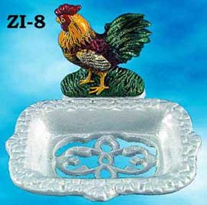 Cast-Iron-Door-Stop-Rooster-and-Hen-(ZI-2)