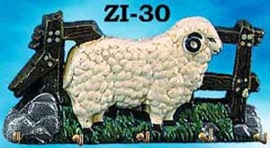Sheep Key Rack (ZI-30)