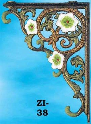 Floral Decor Shelf Bracket (ZI-38)