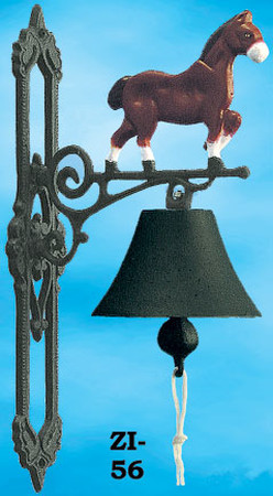 Western Style Cast Iron Horse Bell (ZI-56)