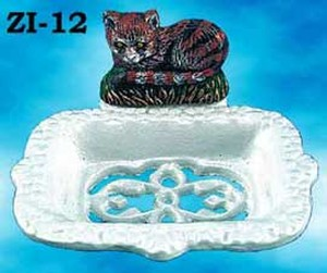 Cast-Iron-Towel-Holder-Cat-Motif-(ZI-62)