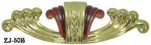 "Art Deco Waterfall Handle  6"" Wide (ZJ-50B)"