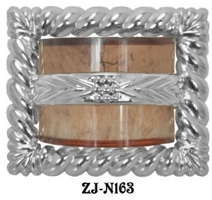 Art-Deco-Waterfall-Rope-Buckle-Handle-2.5-inch-Boring-(ZJ-163)