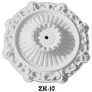 "Victorian 25"" Decorative Real Plaster Ceiling Medallion (ZK-10)"